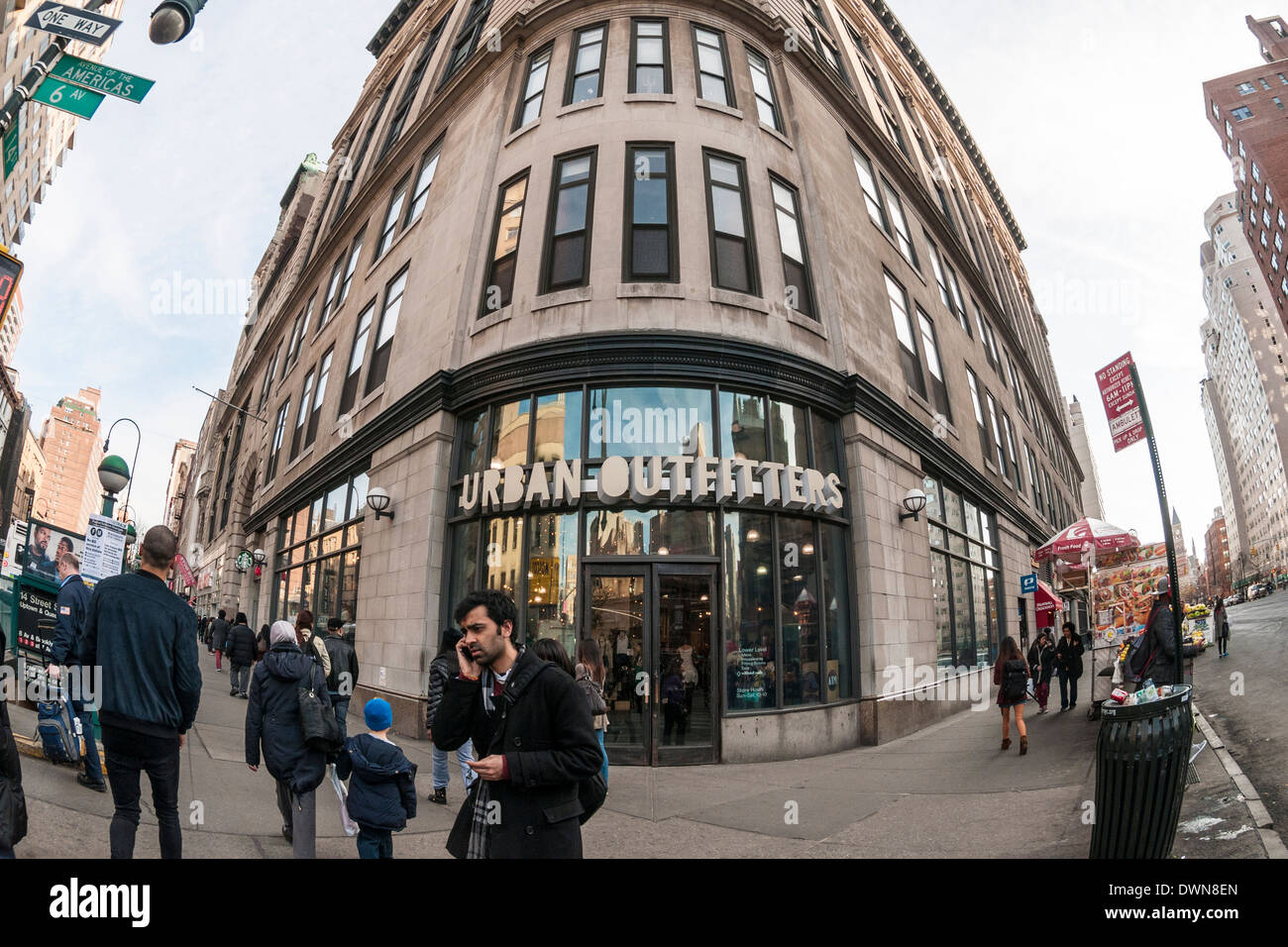 Urban Outfitters Nyc High Resolution Stock Photography And Images Alamy