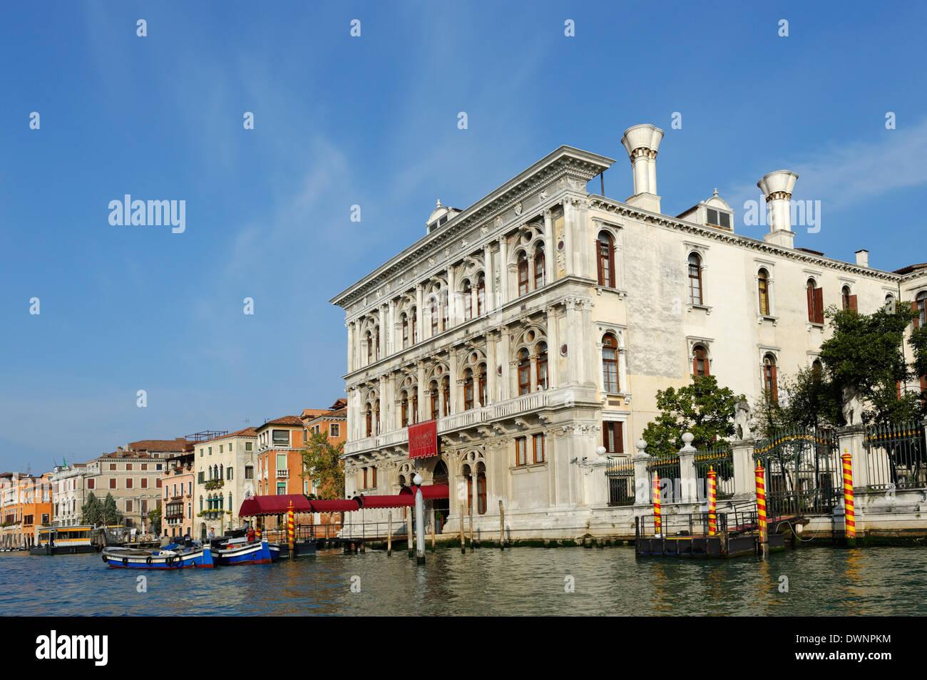 Casino di Venezia, Marcuola, Grand Canal, Cannaregio, Venice, Veneto, Italy Stock Photo