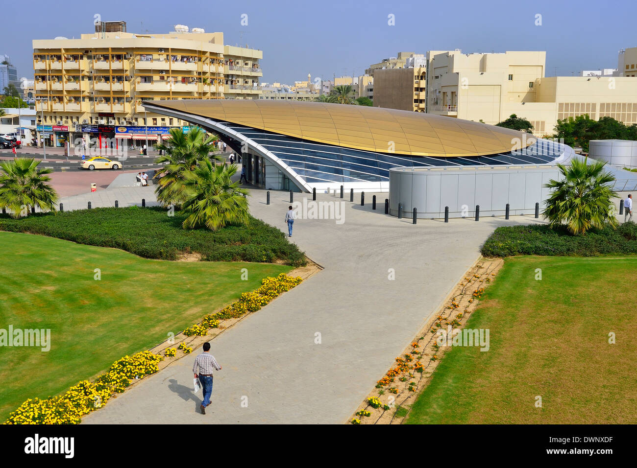The Union Metro Station, Deira, Dubai, United Arab Emirates - Stock Image