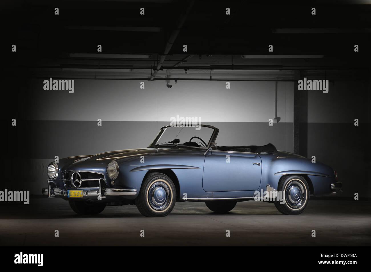 1962 Mercedes-Benz 190 SL Roadster - Stock Image