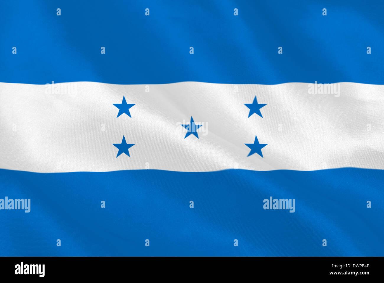 Honduras flag - Stock Image