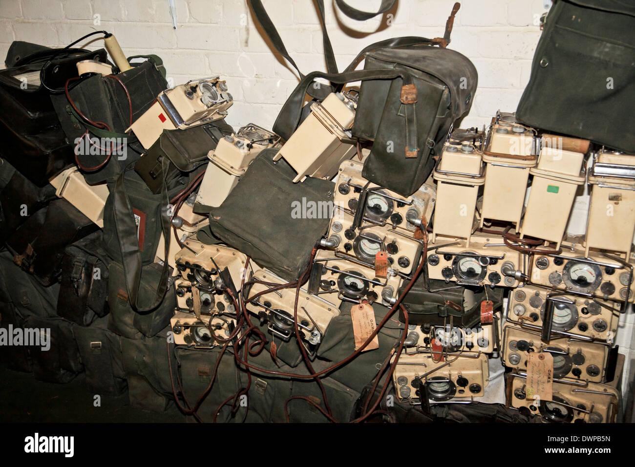 9378. Kelvedon Hatch, Secret Nuclear Bunker, Brentwood, Essex, England - Stock Image