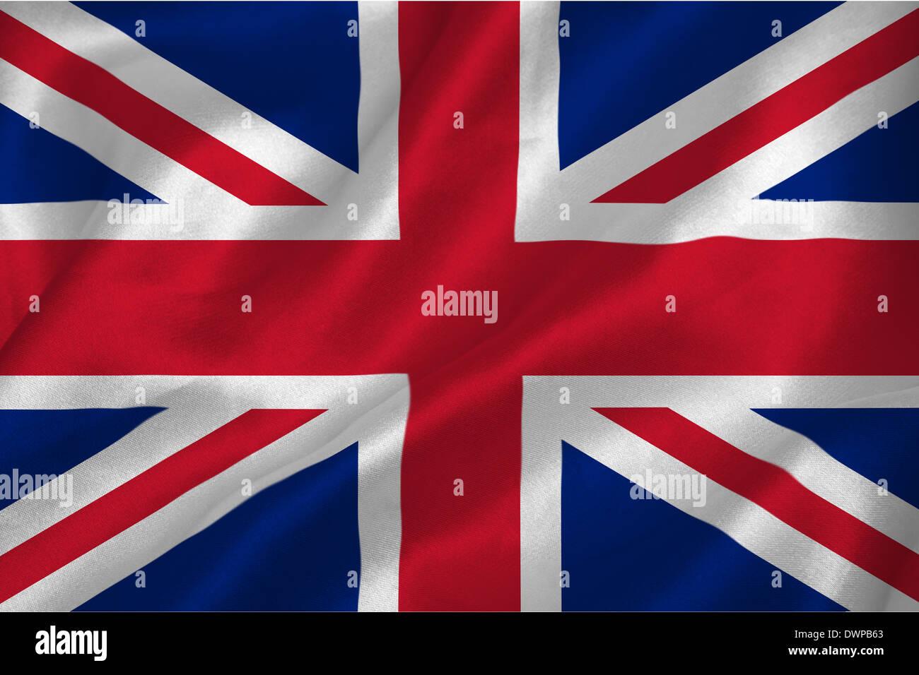 Great britian flag - Stock Image
