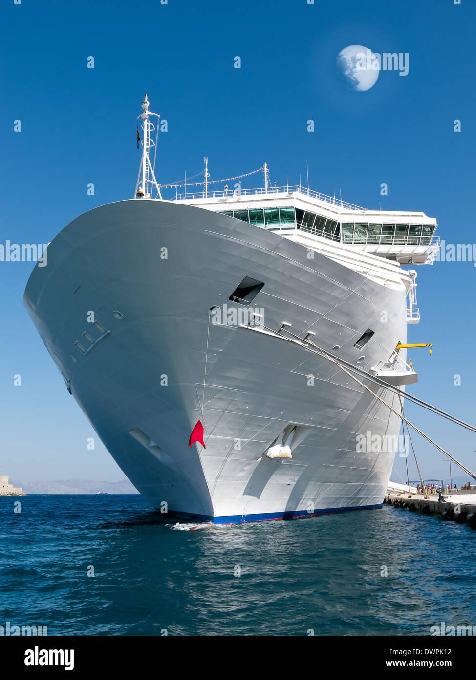 Large tourist ship Stock Photo