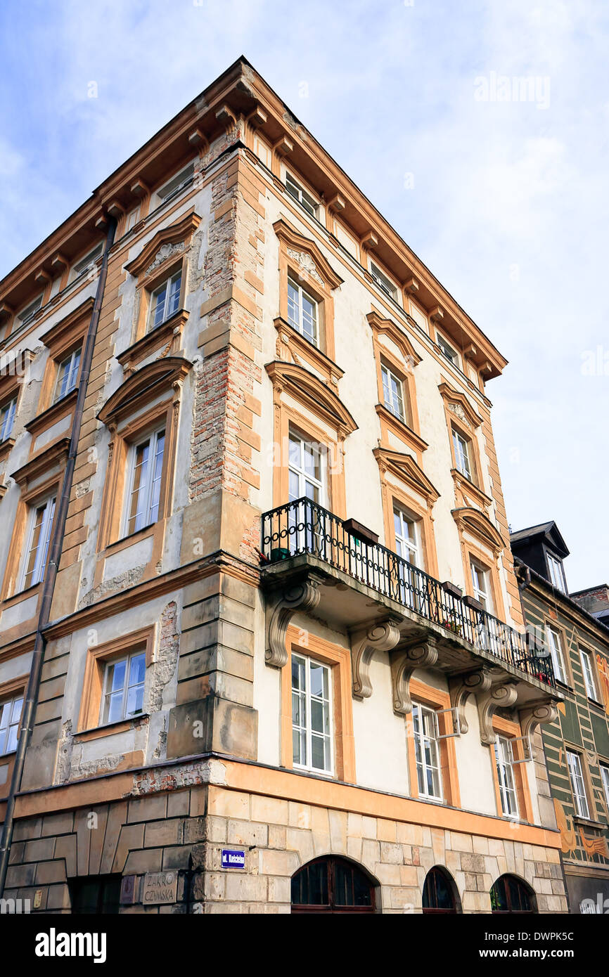 Warsaw City - Old Town architecture Stock Photo