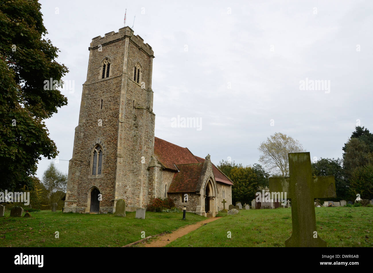 Shottisham Church, Shottisham, Suffolk. Stock Photo