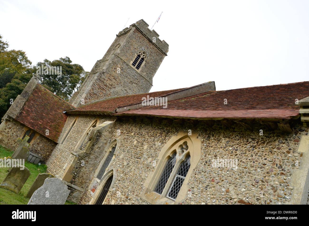 Shottisham Church, Shottisham, Suffolk. Stock Photo