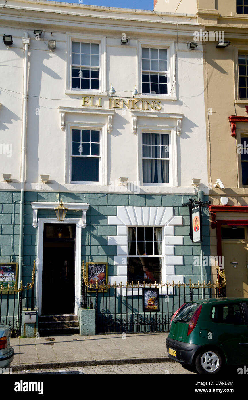 Eli Jenkins Public House, Cardiff Bay, Wales. - Stock Image