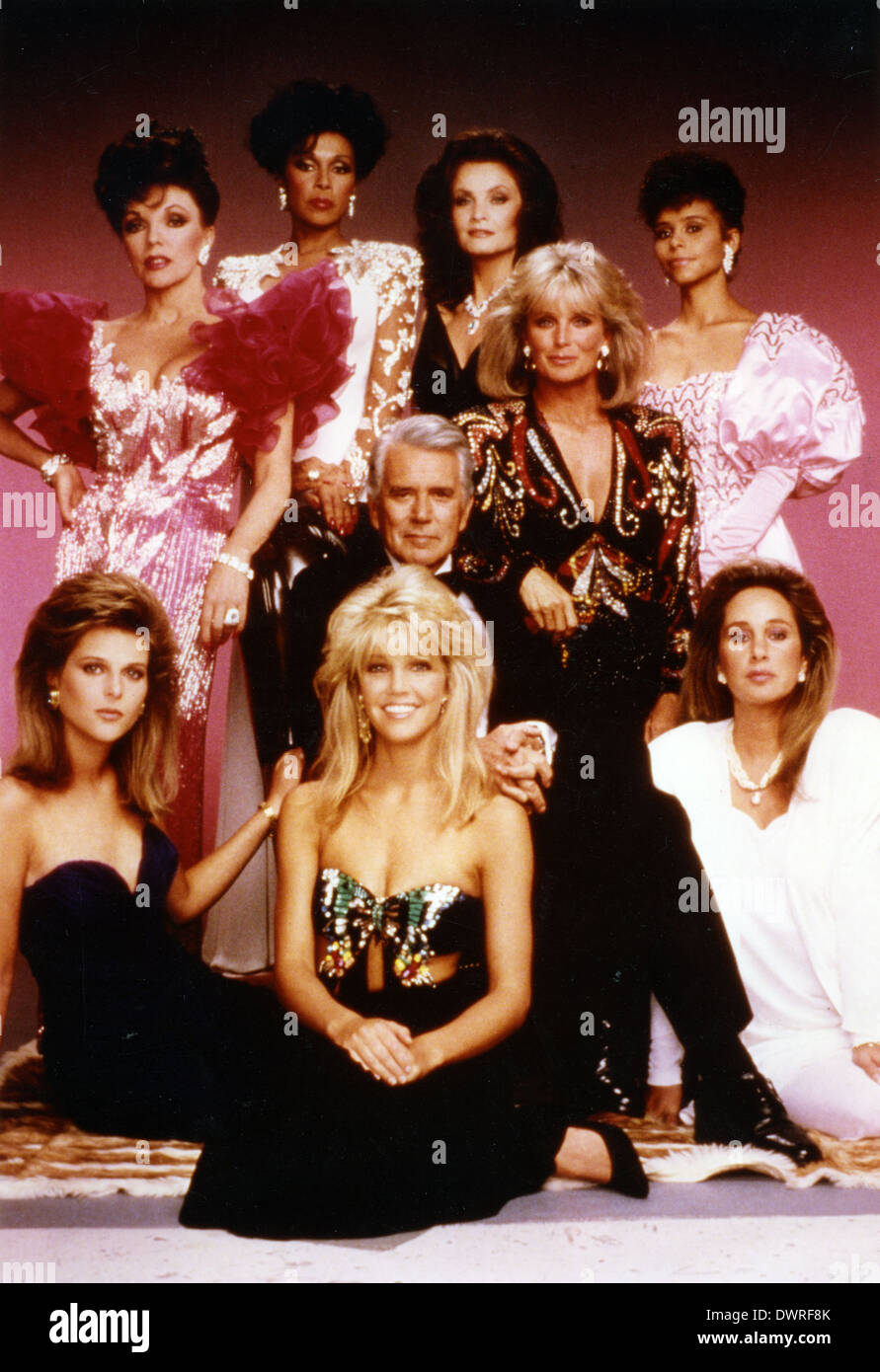 DYNASTY  US TV series from Aaron Spelling Productions - Stock Image