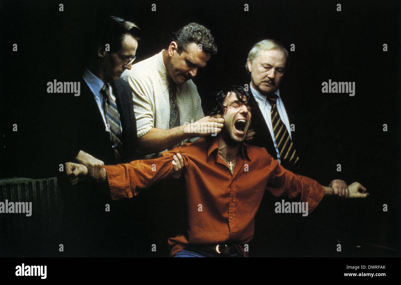 THE NAME OF THE FATHER  1993 Universal film with Daniel Day-Lewis in brown shirt - Stock Image