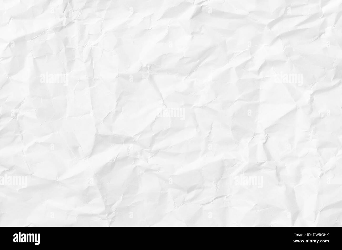 background with wrinkled paper texture - Stock Image