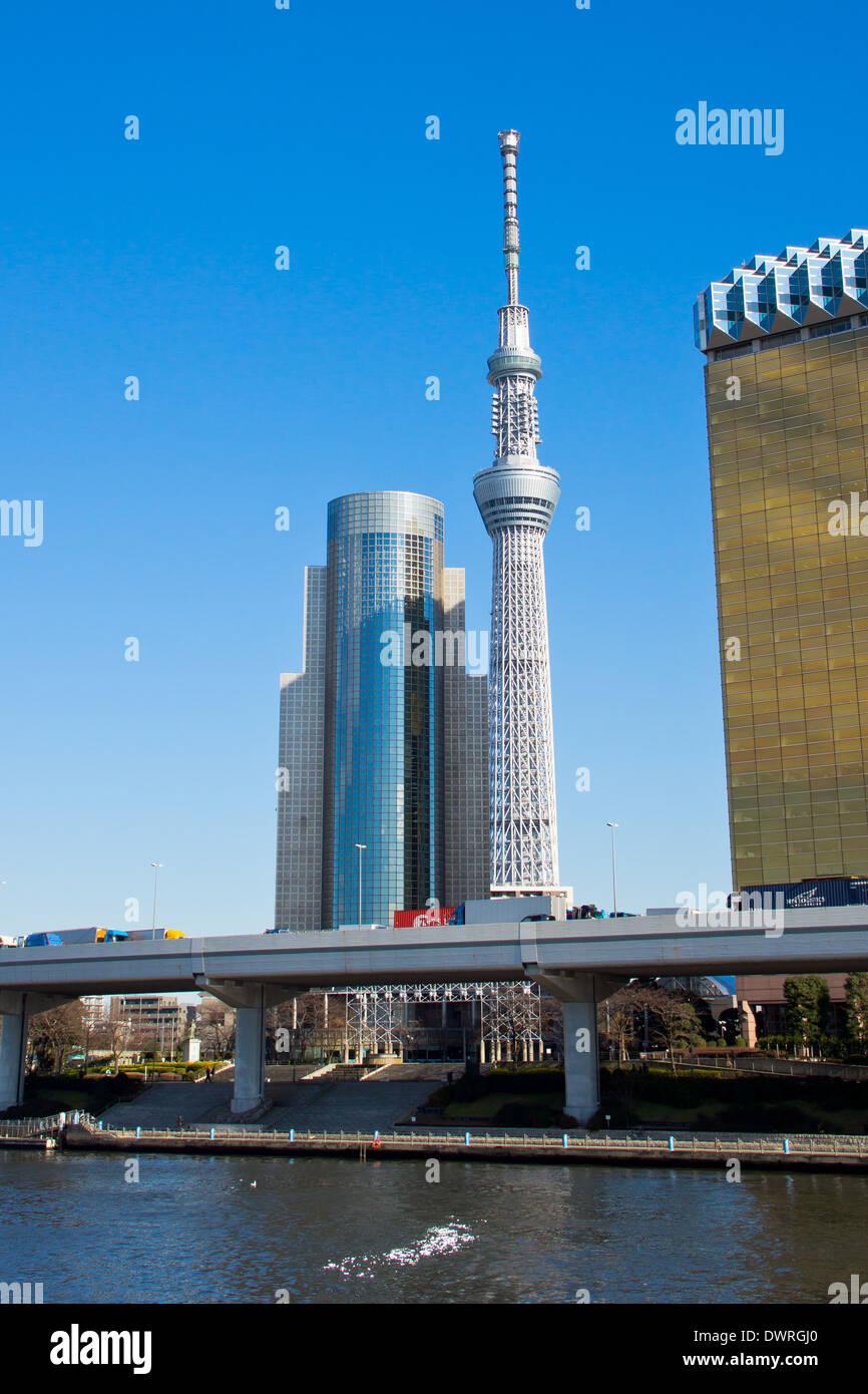 Tokyo, Japan Kanto Skytree - Stock Image