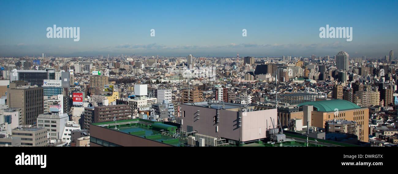 Tokyo Ikebukuro Kanto Top View City - Stock Image