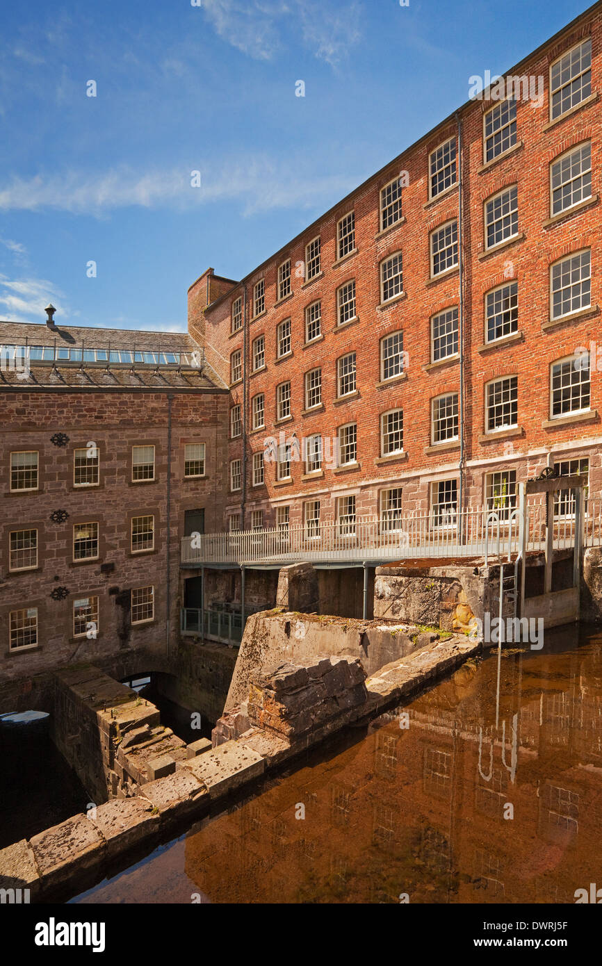 Bell Mill, Stanley Mills, near Perth Stock Photo
