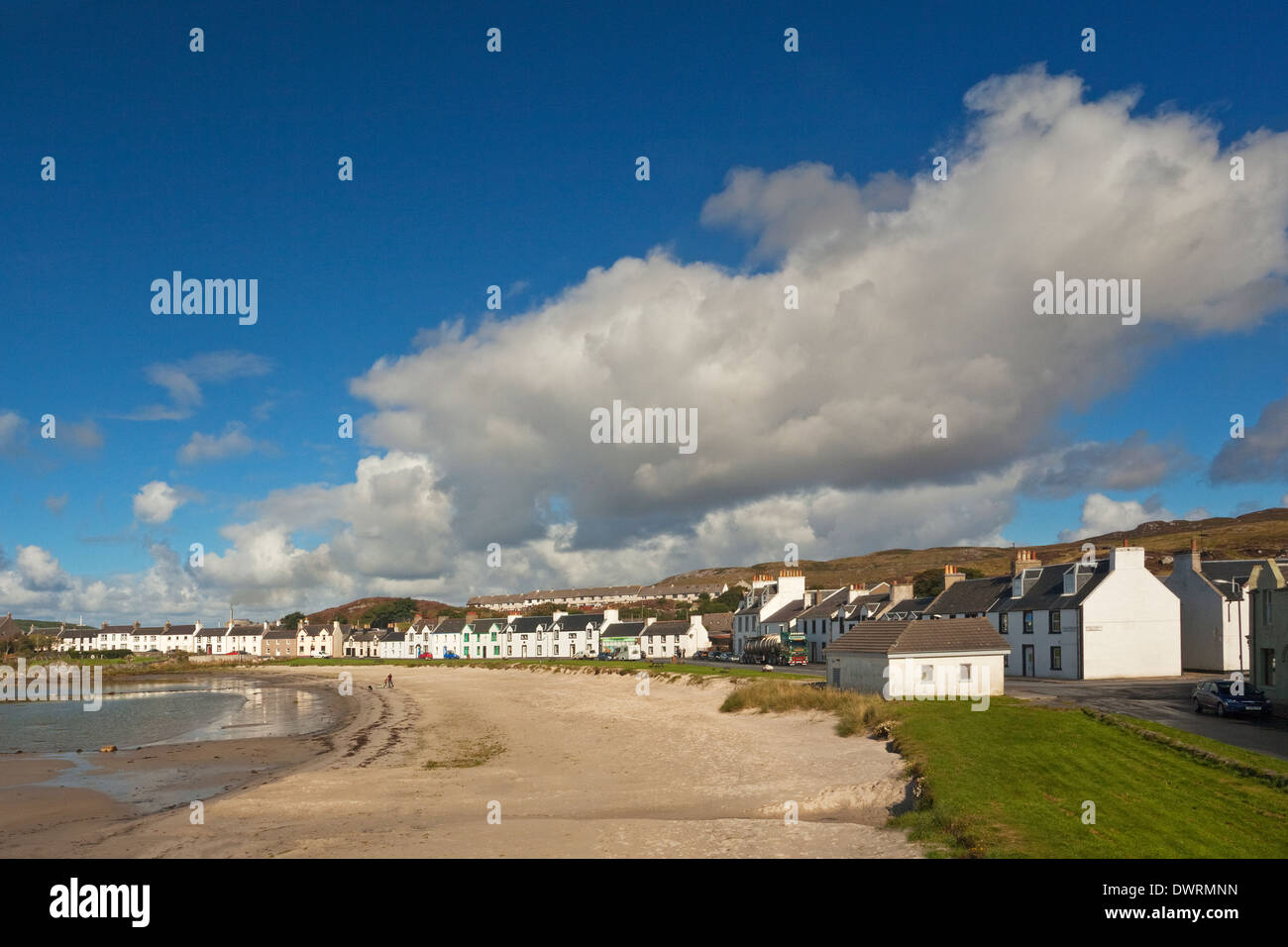 Port Ellen on the Isle of Islay - Stock Image