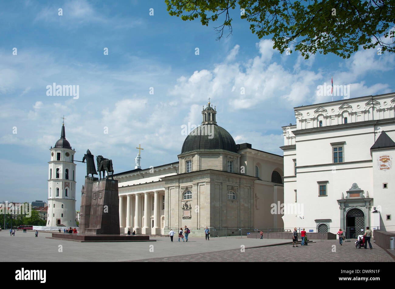 St Stanislaus Cathedral , Vilnius - Stock Image