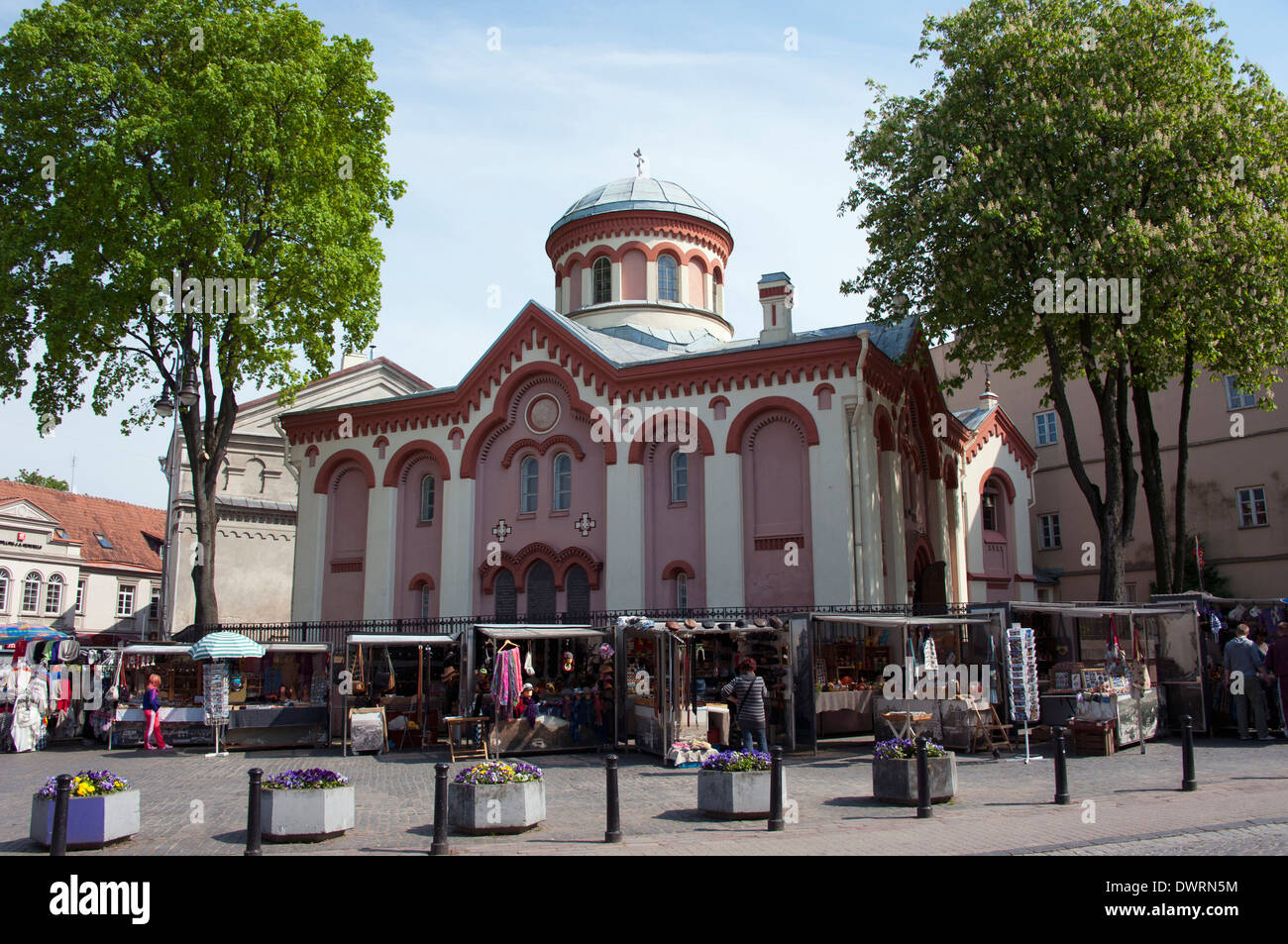 St. Paraskeva Church, Vilnius - Stock Image