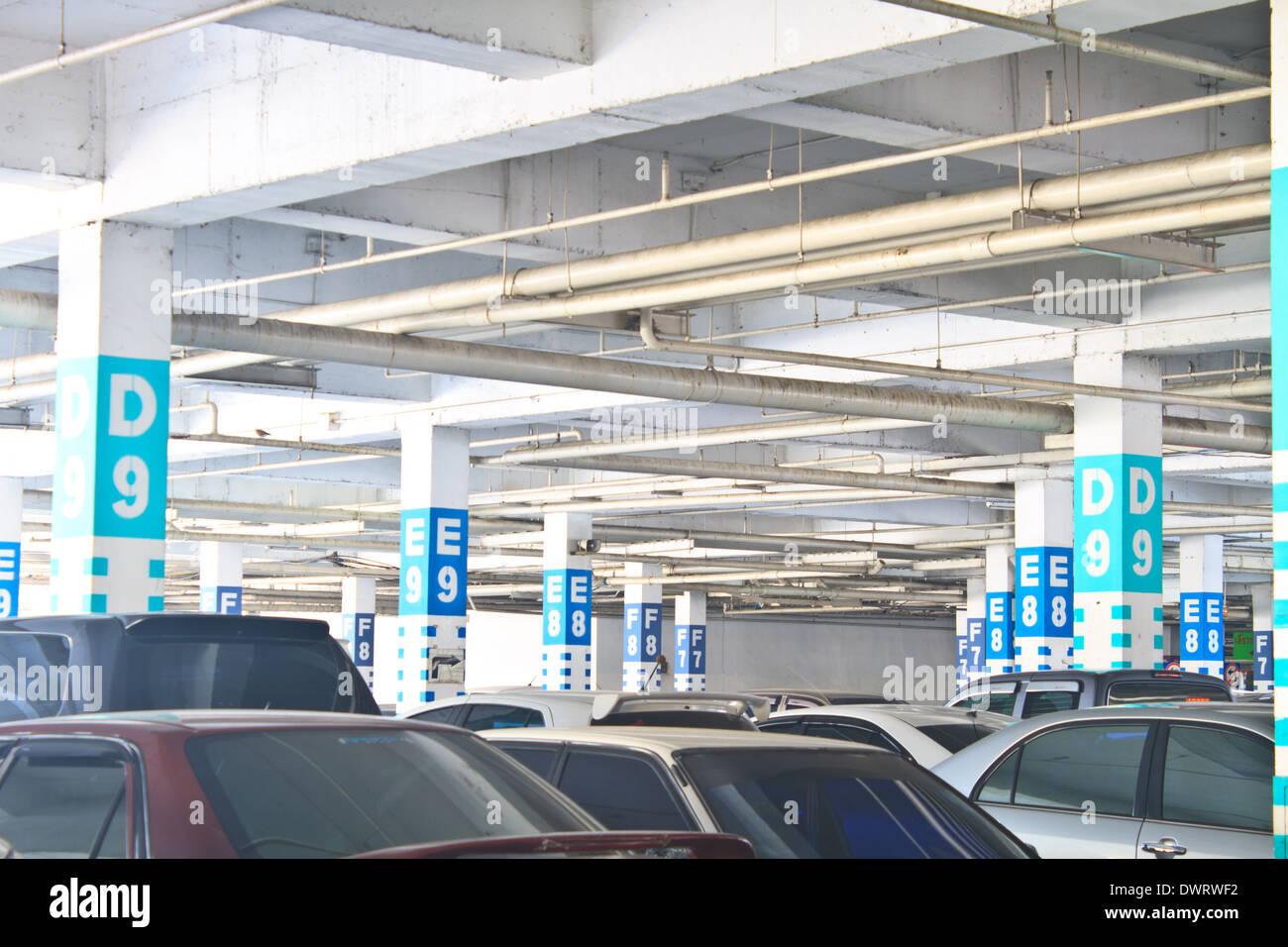 Driveway underground parking stock photos driveway for Garage europe auto center fresnes