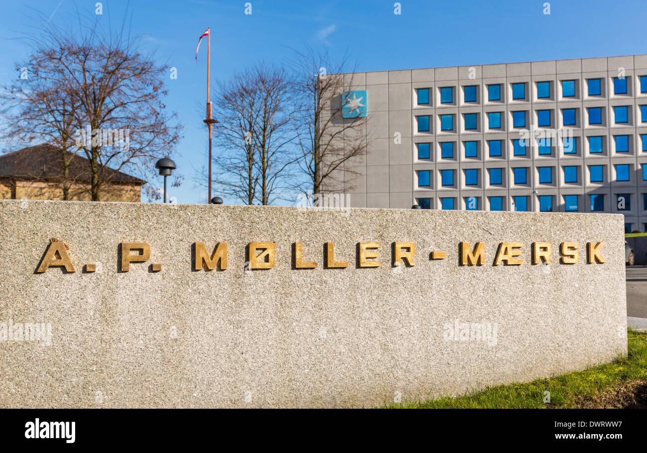 Maersk head office, Esplanaden ,Copenhagen, Denmark Stock Photo