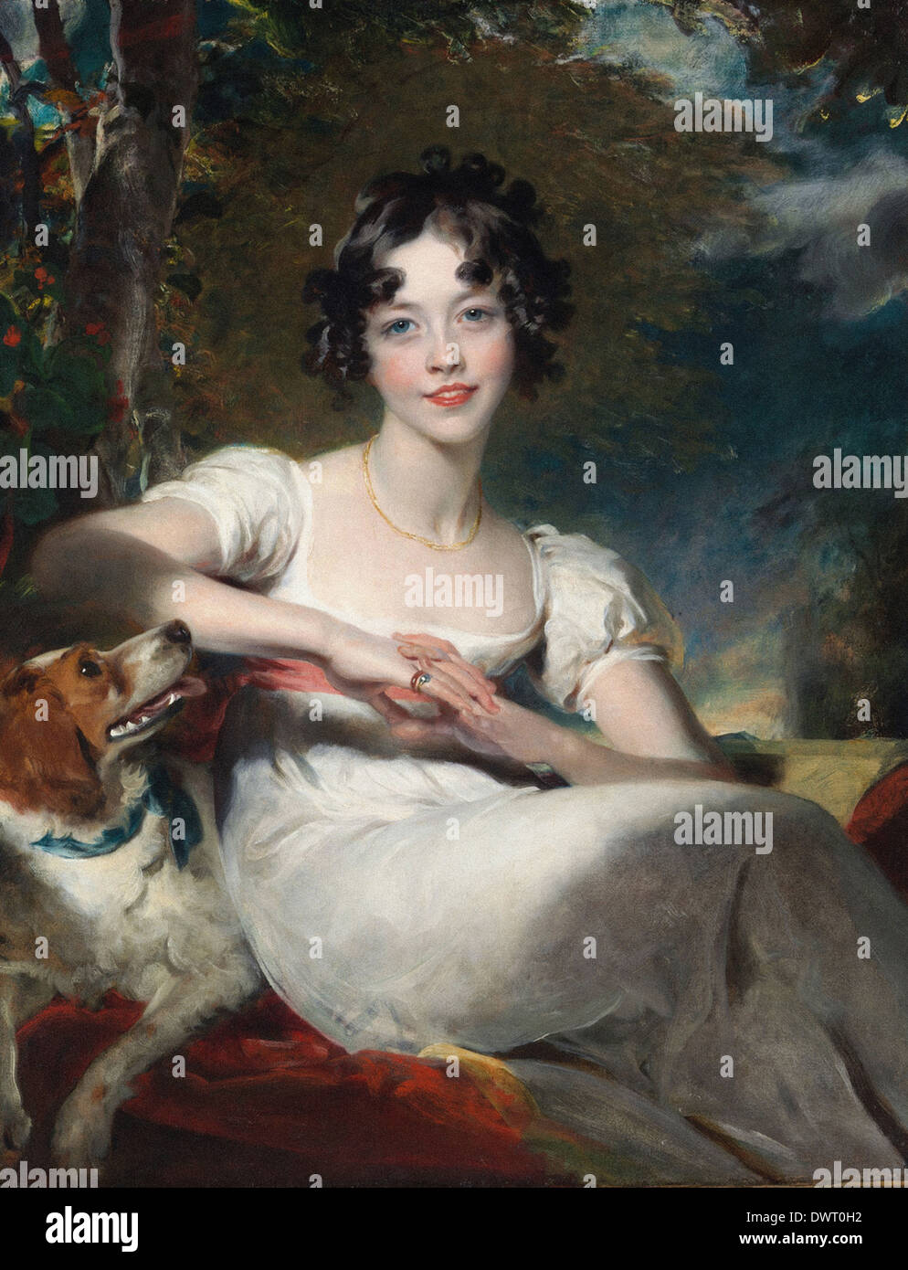 Sir Thomas Lawrence - Lady Maria Conyngham - Stock Image