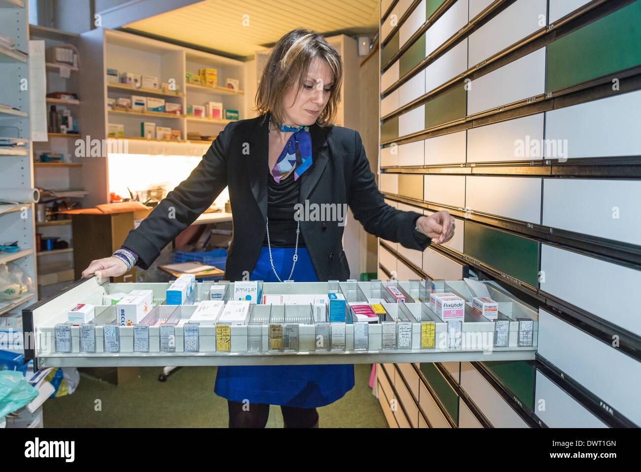 Chemist - Stock Image