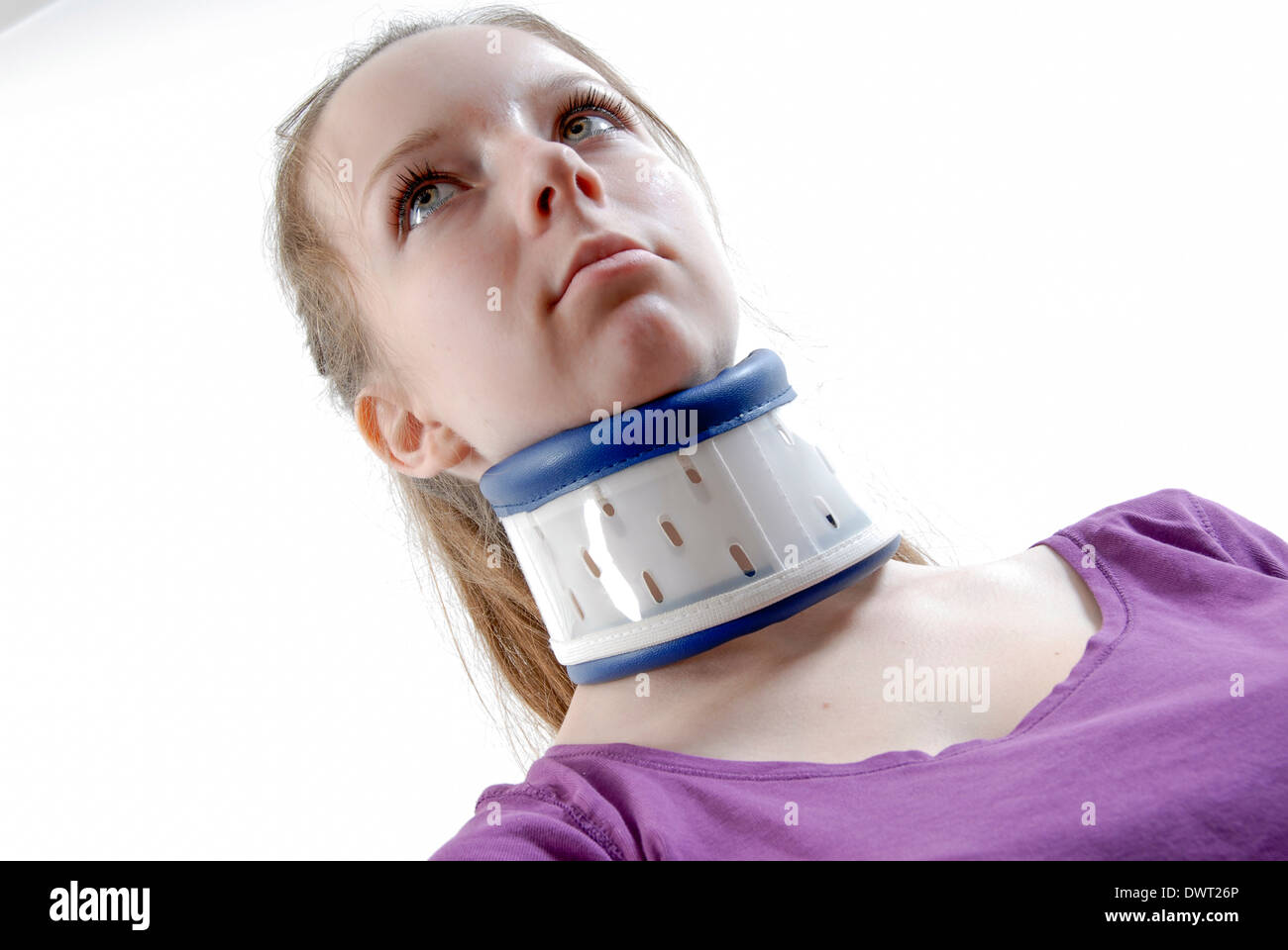 Supportive collar - Stock Image
