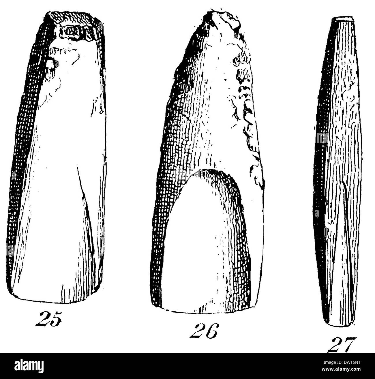 Age tools stone from the Early Stone