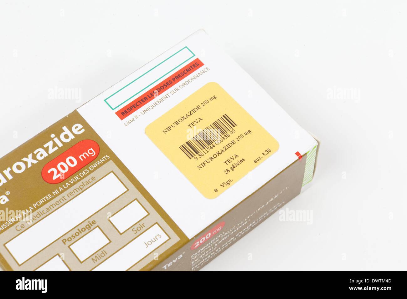 Nifuroxazide Stock Photos & Nifuroxazide Stock Images - Alamy