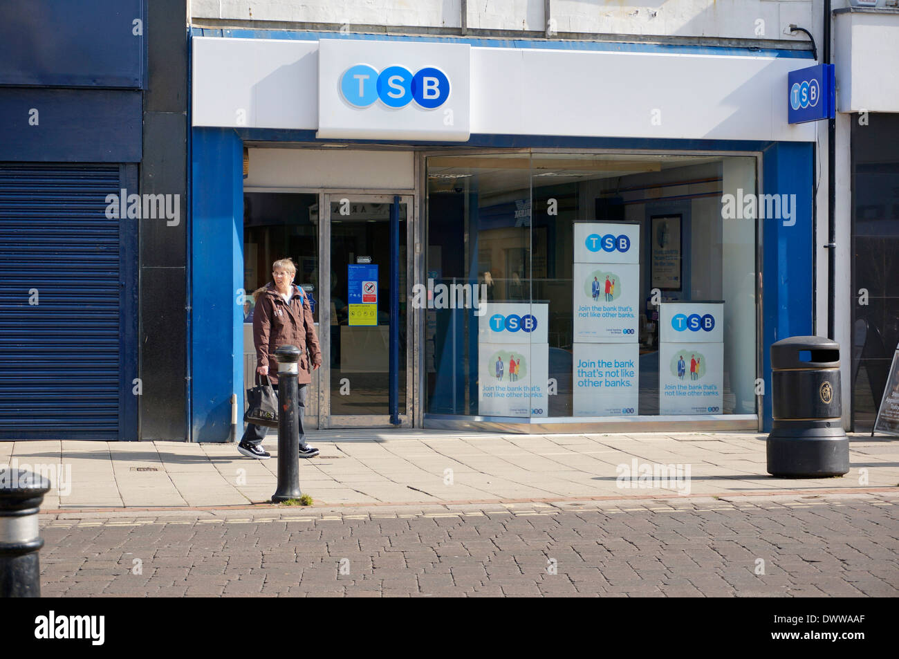 The TSB Bank Worthing West Sussex UK - Stock Image