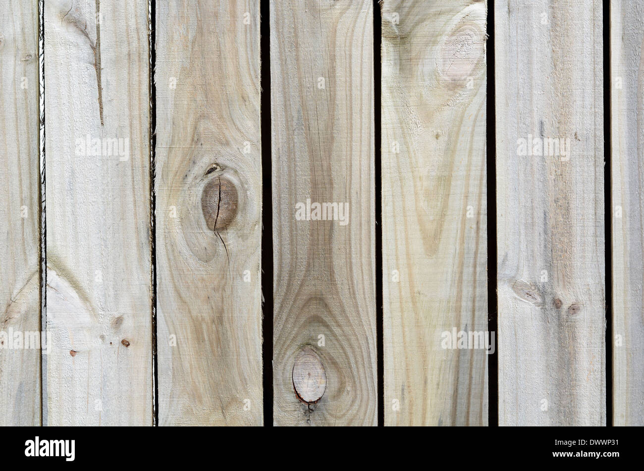 Line of empty wood planks background texture. - Stock Image