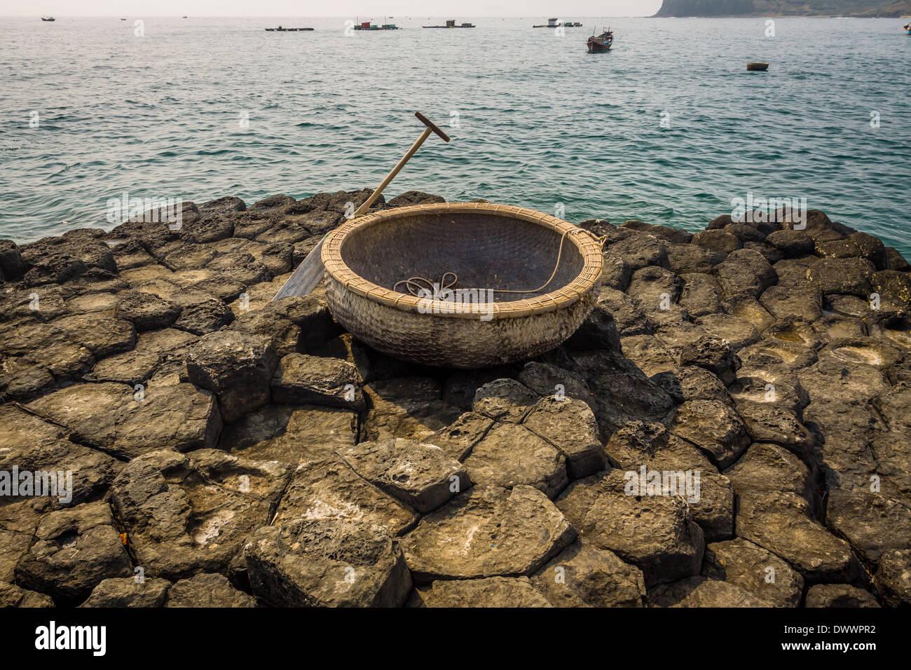 Ghenh da dia Vietnam - Stock Image