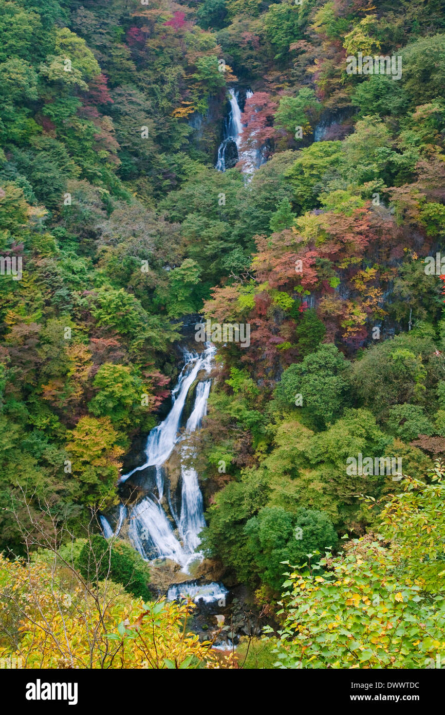 Nikko in autumn, Tochigi, Japan Stock Photo