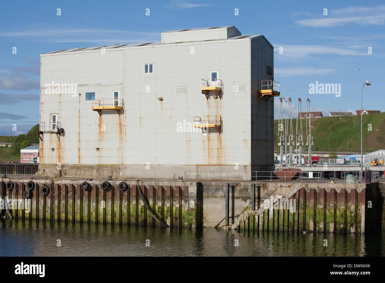 Scrabster Harbour, Scrabster, Thurso, Caithness, Scotland - Stock Image