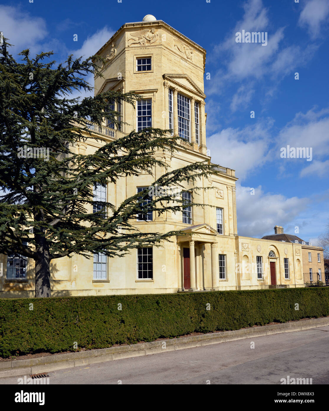 Tower of the Winds, Green Templeton College, Oxford University - Stock Image