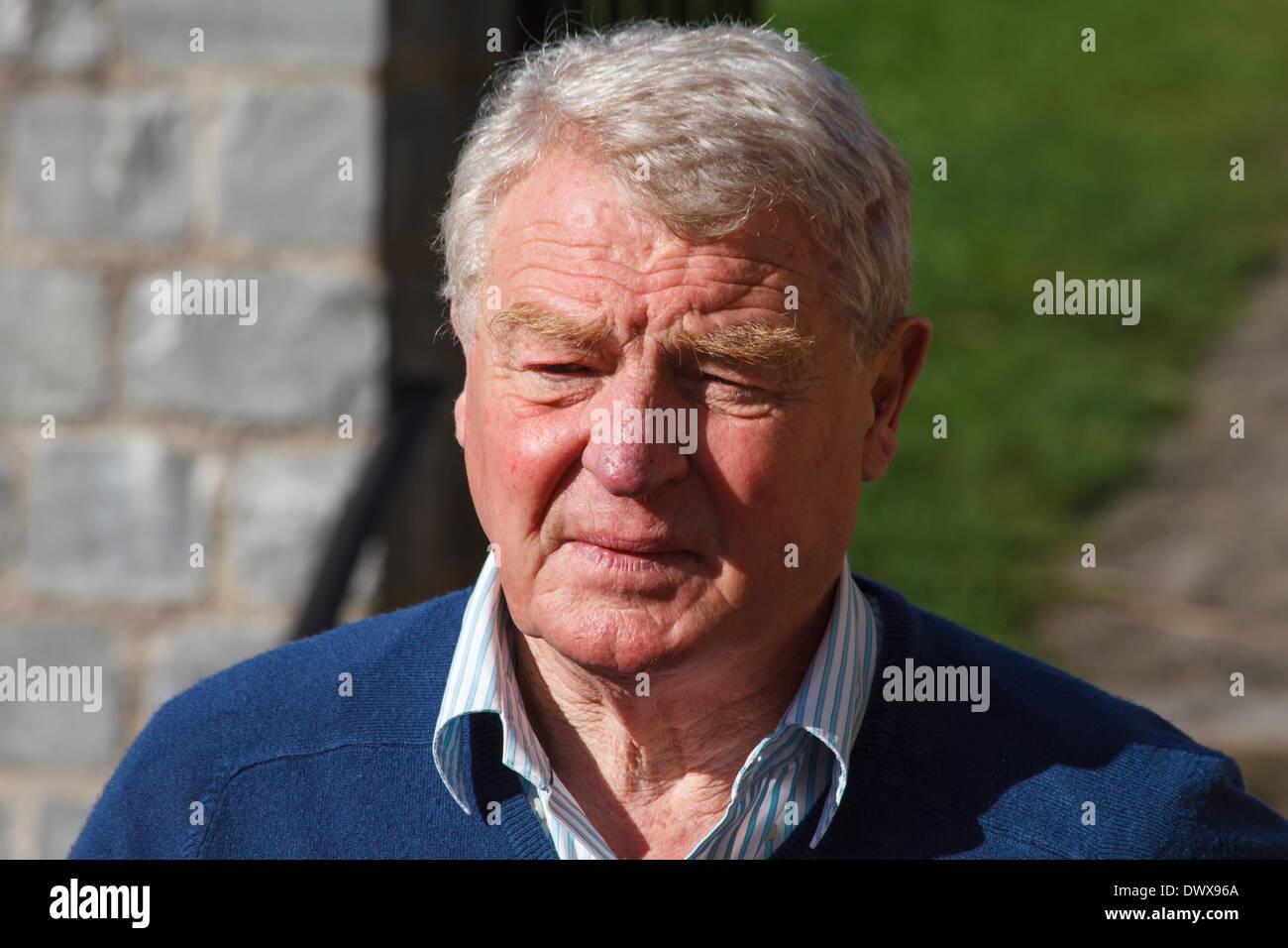 Lord Paddy Ashdown, Baron Ashdown of Norton-sub-Hamdon, British politician, former leader of the Liberal Democratic Party - Stock Image