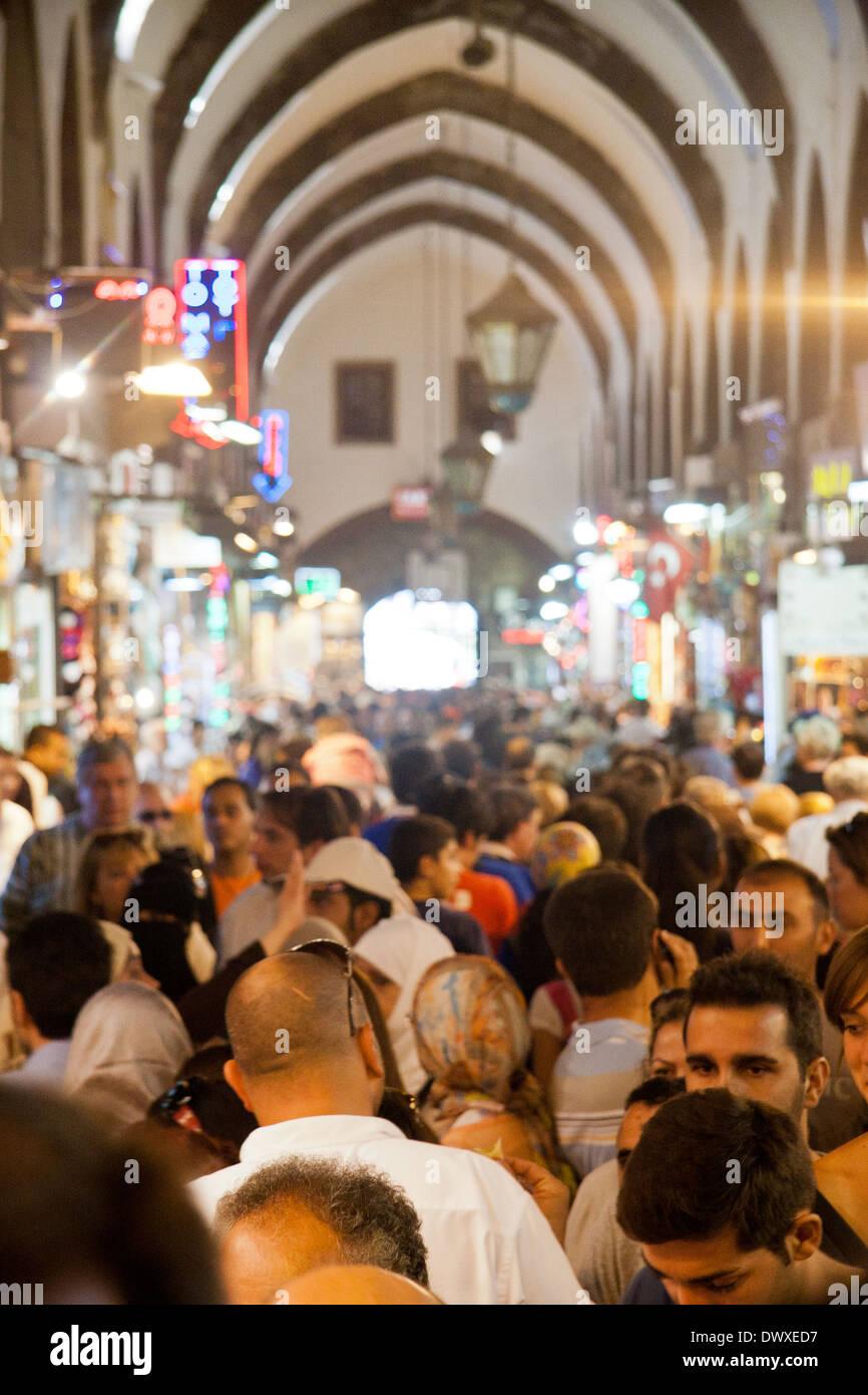 Egyptian bazaar; Spice bazaar; Misir Carsisi, Eminonu; Istambul - Stock Image