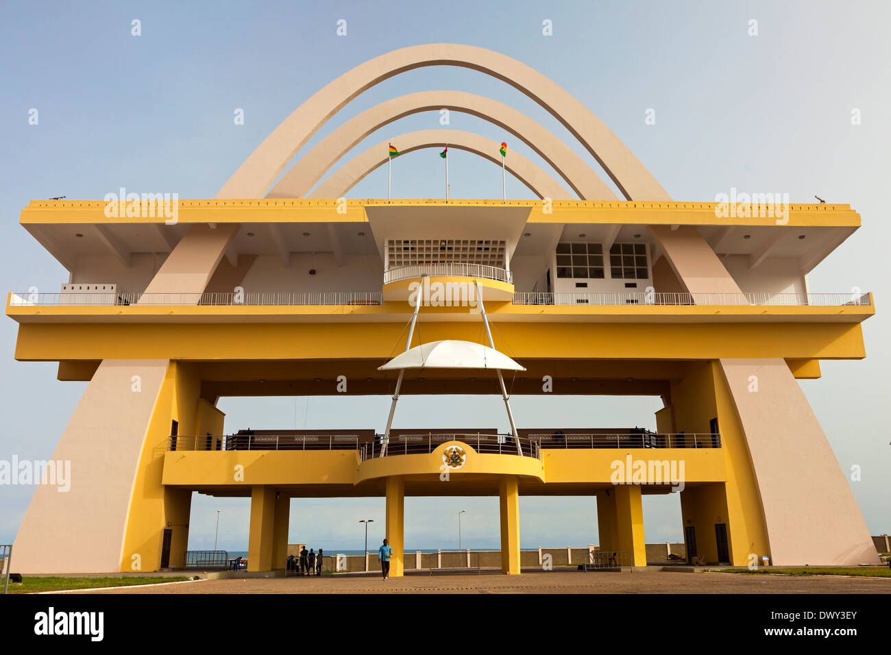 Arch at Independence Square, Accra, Ghana, Africa Stock Photo