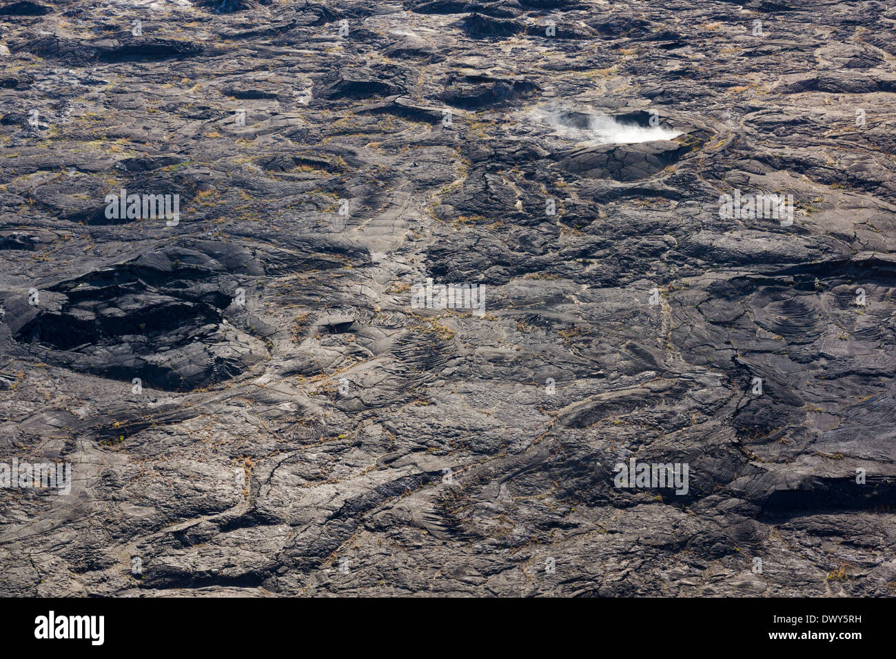 Kilauea Caldera, Hawaii Volcanoes National Park, Big Island, Hawaii, USA. - Stock Image