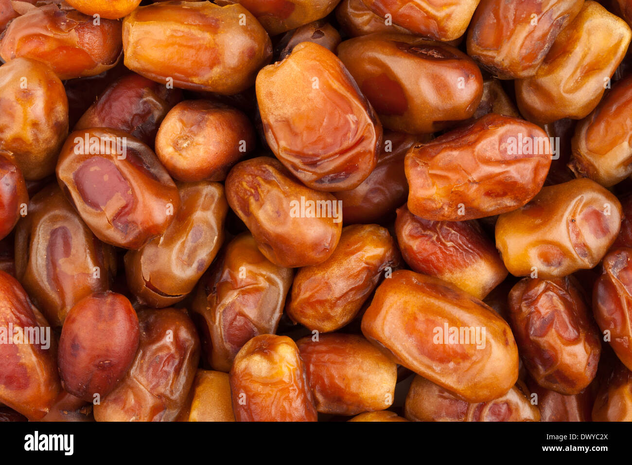 dates fruit background - Stock Image