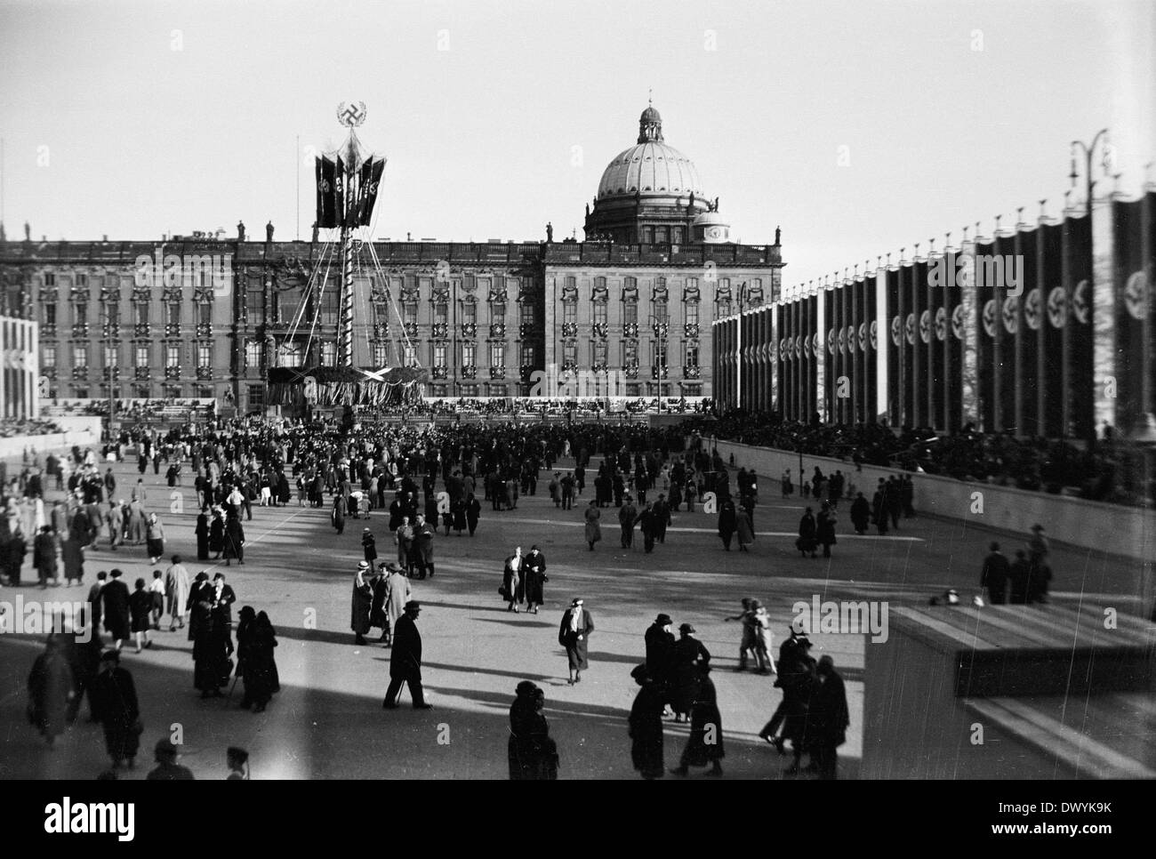 May Day (Maifeier) of the National Socialists, Berlin, Germany - Stock Image