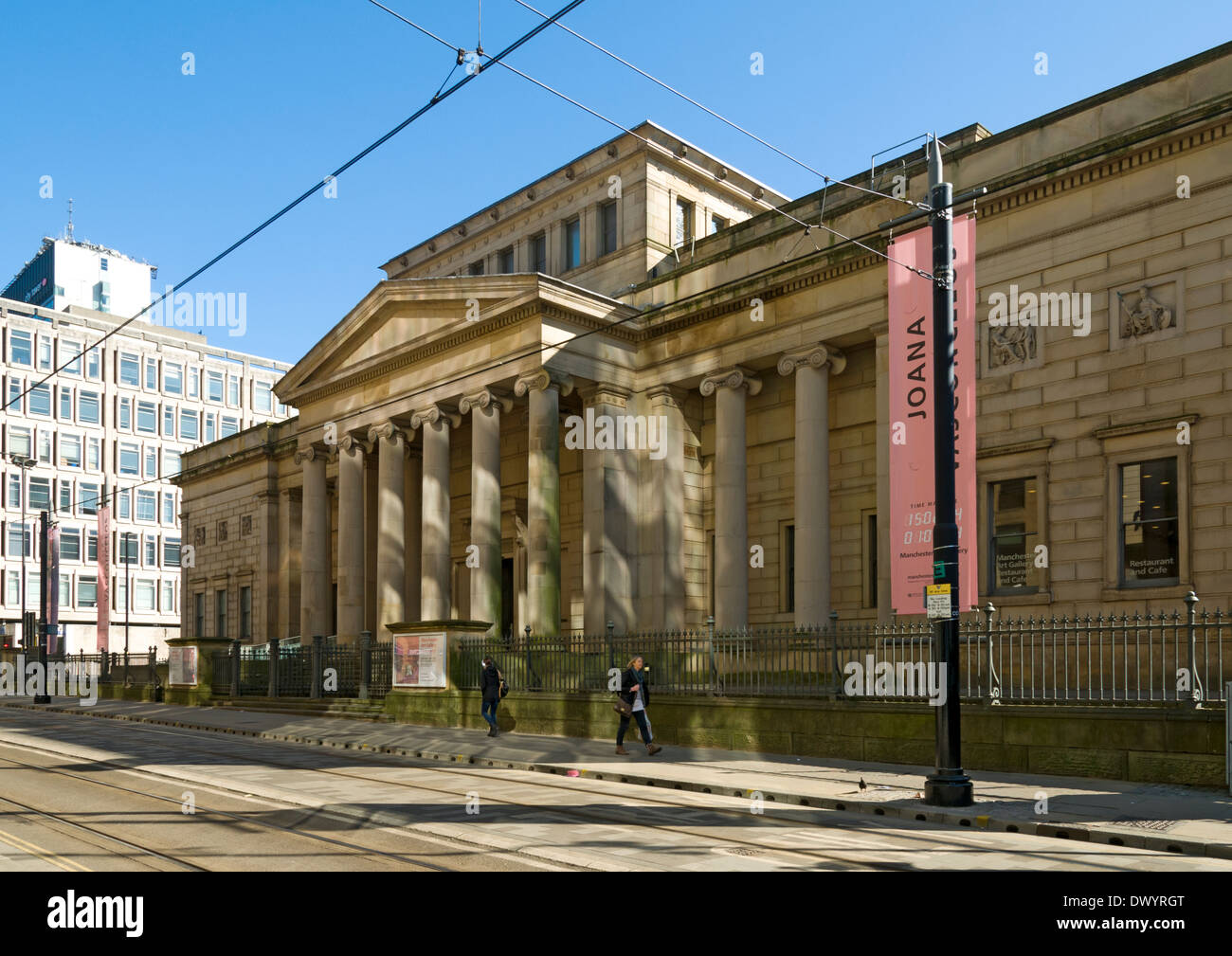 Manchester Art Gallery, Mosley Street, Manchester, England, UK.  Sir Charles Barry, 1824. - Stock Image