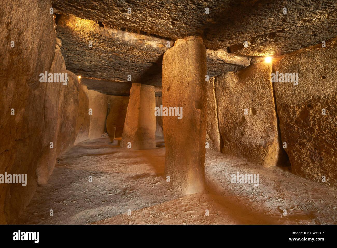 Dolmen de Menga, Antequera - Stock Image