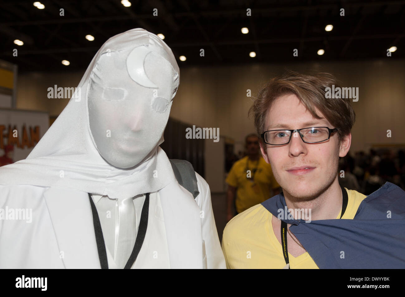 15.3.14. ExCel, London UK. Cosplay visitors at ExCel London on the opening day of the third London Super Comic Convention - Stock Image