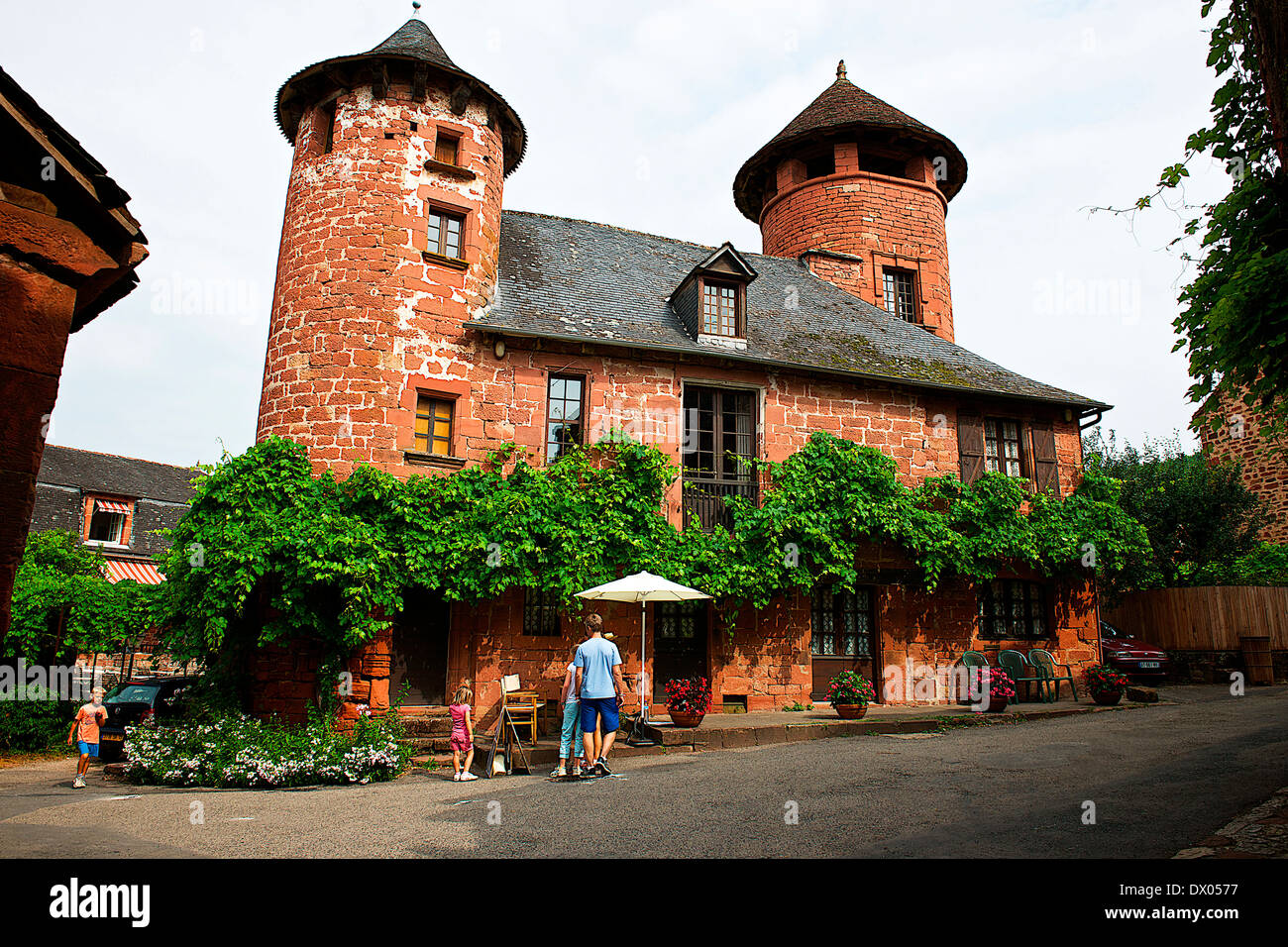 Collonges-La Rouge, France - Stock Image
