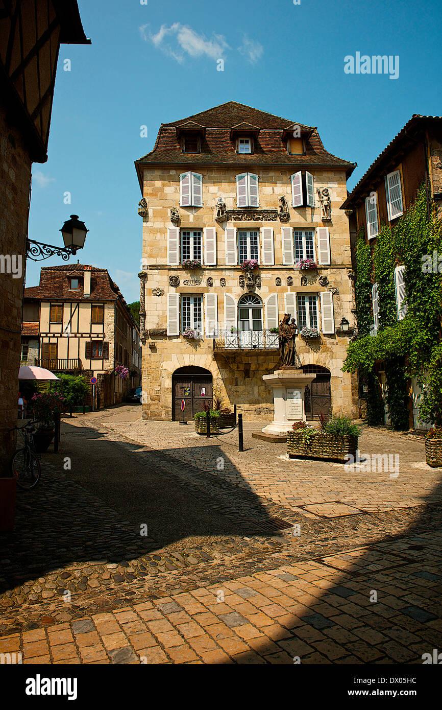 Beaulieu-sur-Dordogne, France Stock Photo