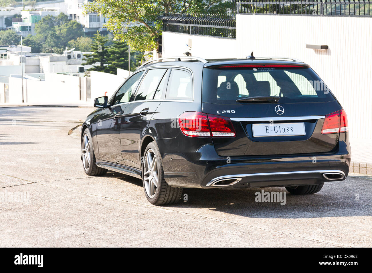 Mercedes-Benz E-Class Avant 2013 Model with new facelift look. Stock Photo