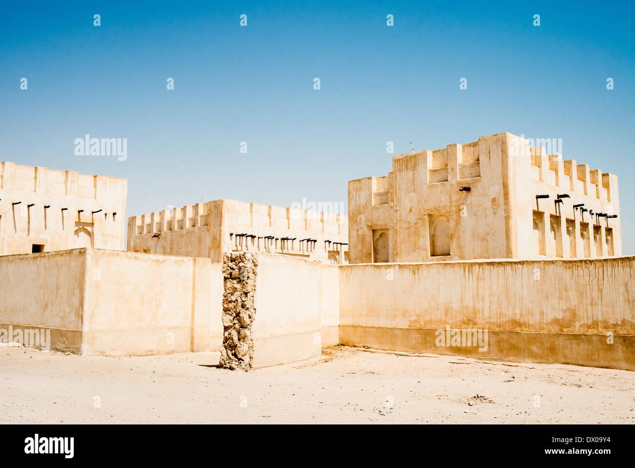 Doha souq Stock Photo