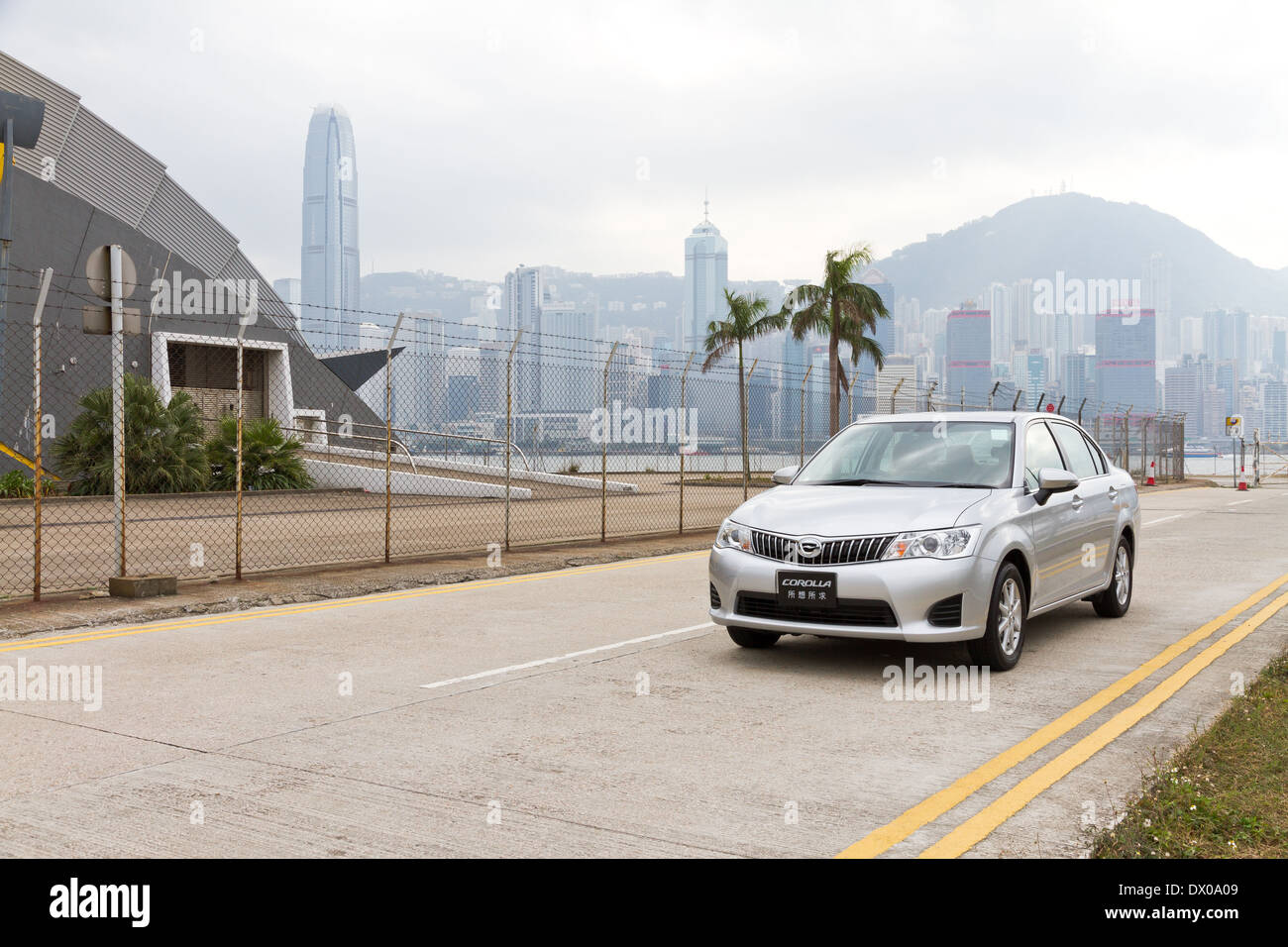 The entry level sedan in japan market - Stock Image