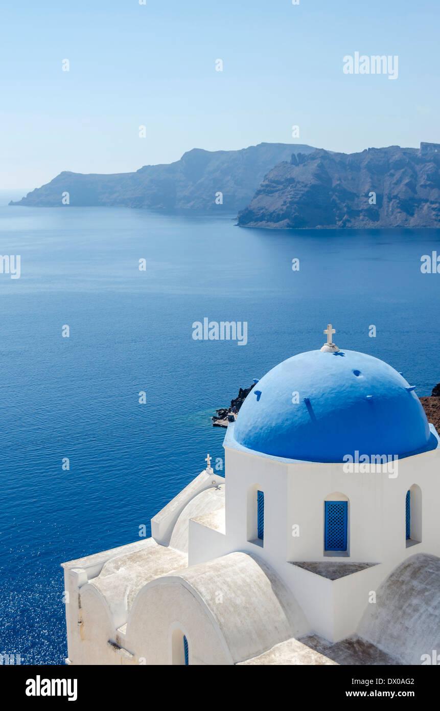 Santorini Island, Greece - Stock Image