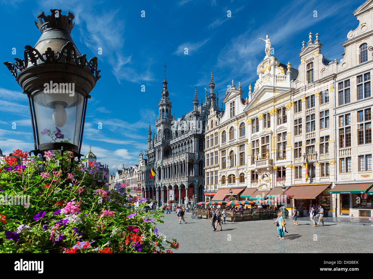 Brussels, Grand Place Stock Photo